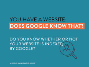 how is your site indexed on google