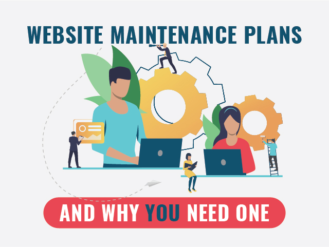 website maintenance plans and care