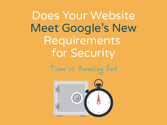 Google's SSL Certificate Requirement