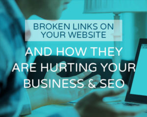 broken links on your website